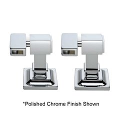 Radiance Tilt Contemporary Mounting Brackets - Satin Nickel