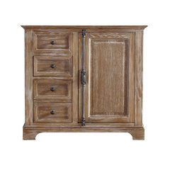 "35"" Providence Single Cabinet Only w/o Top - Driftwood"
