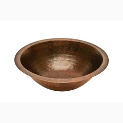 "17"" x 17"" Undermount Bathroom Sink - Oil Rubbed Bronze"