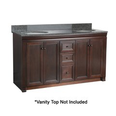 "60"" Shawna Cabinet Only w/o Top - Tobacco"