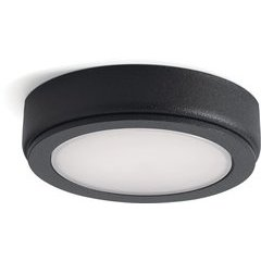 6D Series 24V 2700K LED Disc - Textured Black