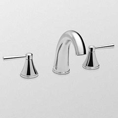 Silas Two Handle Widespread Bathroom Faucet - Brushed Nick