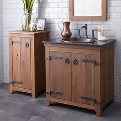"30"" Americana Single Sink Bathroom Vanity Suite - Chestnut"
