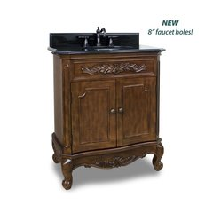 "30"" Clairemont Single Sink Vanity - Nutmeg"