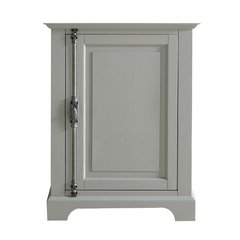 """26"""" Providence Single Cabinet only w/o Top - Urban Gray"""