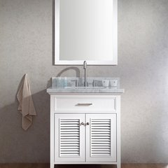 "31"" Kensington Single Sink Bathroom Vanity - White"