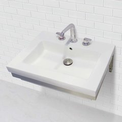 "DECOLAV Caden 18-1/4"" x 23-1/2"" Wall Mount Bathroom Sink"