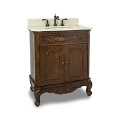 "30"" Clairemont Single Sink Bathroom Vanity - Nutmeg"