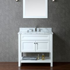 "36"" Seacliff Mayfield Single Sink Vanity - Alpine White"