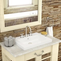 "Corrina 8.75"" x 26.25"" Drop in Sink"