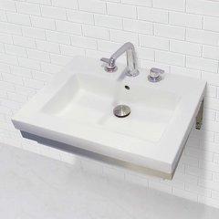 "DECOLAV Ciera 18-1/4"" x 23-1/2"" Wall Mount Bathroom Sink"