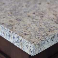 "60"" Double Bowl Vanity Top Only - Santa Cecilia Stone"