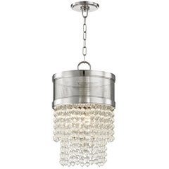 Harrison 4 Light Pendant - Polished Nickel