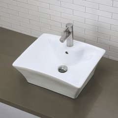 "DECOLAV Dahlia 19-1/2"" x 16-1/8"" Above Counter Bathroom Sink"