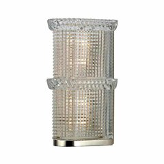 Blythe 2 Light Bathroom Sconce - Polished Nickel
