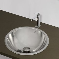 "DECOLAV Hayley 16-1/4"" x 16-1/4"" Universal Bathroom Sink"