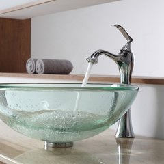 Ventus Vessel Bathroom Faucet - Chrome