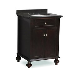"24"" Huntington Single Sink Bathroom Vanity - Espresso"