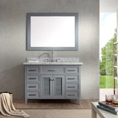 "49"" Kensington Single Sink Bathroom Vanity - Gray"
