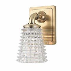 Westbrook 1 Light Bathroom Sconce - Aged Brass