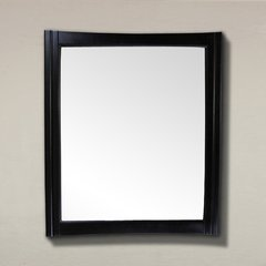 "37"" x 32"" Wall Mount Mirror - Dark Mahogany"