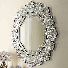 "32"" x 32"" Radiance Venetian Wall Mount Mirror"