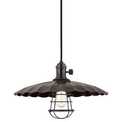 Heirloom 1 Light Pendant - Old Bronze <small>(#8002-OB-ML3-WG)</small>