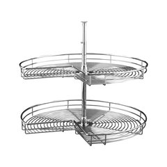 "5472 2 Shelf Kidney 32"" Chrome"