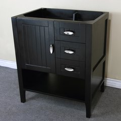 "29"" Single Sink Cabinet Only w/o Top - Espresso"