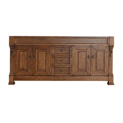 "71"" Brookfield Double Cabinet Only w/o Top - Country Oak"