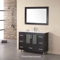 "48"" Stanton Single Sink Bathroom Vanity - Espresso"