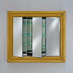 "Vanderbilt 42"" Medicine Cabinet - Baroque Antique Gold"