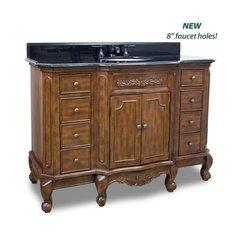 "48"" Clairemont Single Sink Vanity - Nutmeg"