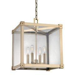 Forsyth 4 Light Pendant - Aged Brass