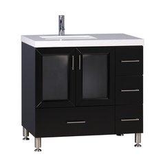 "36"" Westfield Single Sink Vanity - Espresso"