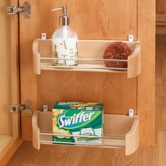 """Wood Door Storage Tray with Mounting Clips 14"""""""