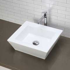 "DECOLAV Kloey 18"" x 16"" Above Counter Bathroom Sink"