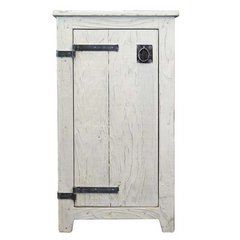 "19"" Americana Floor Cabinet - Whitewash"