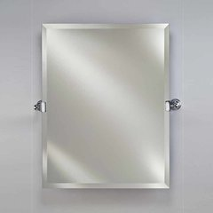 "22"" x 16"" Radiance Tilt Wall Mount Mirror - Polished Chrome"