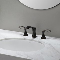 Cirrus 2 Handle Widespread Bathroom Faucet - Oil Rub Bronze