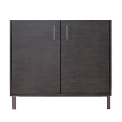 "36"" Metropolitan Single Cabinet Only w/o Top - Silver Oak"