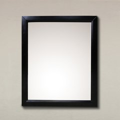 "30"" x 24"" Wall Mount Mirror - Espresso"