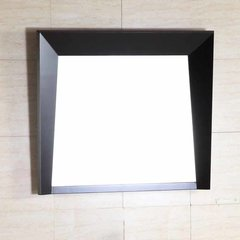 "25"" x 30"" Wall Mount Mirror - Dark Espresso"