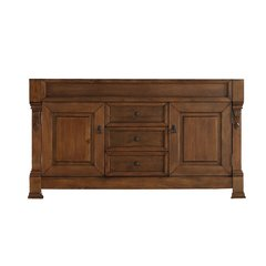 "59"" Brookfield Single Cabinet Only w/o Top - Country Oak"