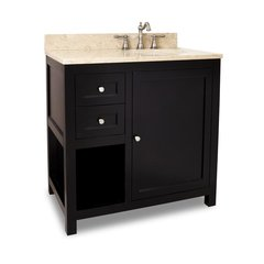 "36"" Astoria Modern Single Sink Vanity - Espresso"