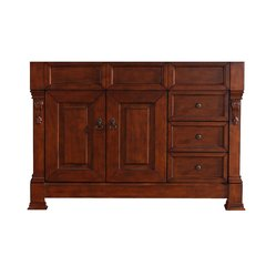 "47"" Brookfield Single Cabinet Only w/o Top - Warm Cherry"