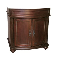 "36"" Arlington Single Cabinet Only w/o Top- Distressed Cherry"