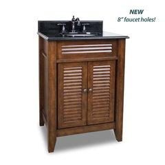 """26"""" Lindley Single Sink Vanity - Nutmeg"""