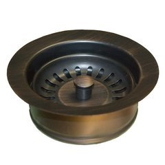 "3-1/2"" Basket Strainer Drain w/Disposer Trim- Oil Rub Bronze"