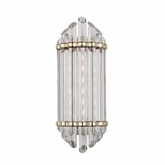 Albion 8 Light Bathroom Sconce - Aged Brass